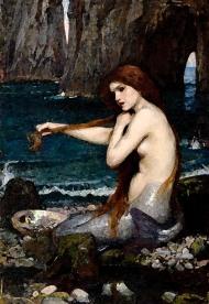 Waterhouse, John William; A Mermaid; Royal Academy of Arts; http://www.artuk.org/artworks/a-mermaid-149322